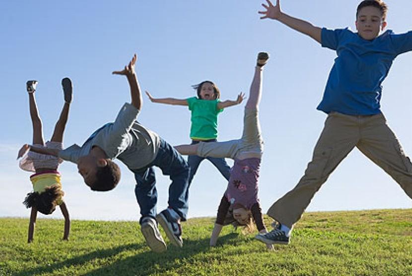 Anak aktif/ilustrasi