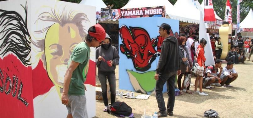 Anak-anak muda Yogya menyimpan bakat dan kreatifitas seni grafiti