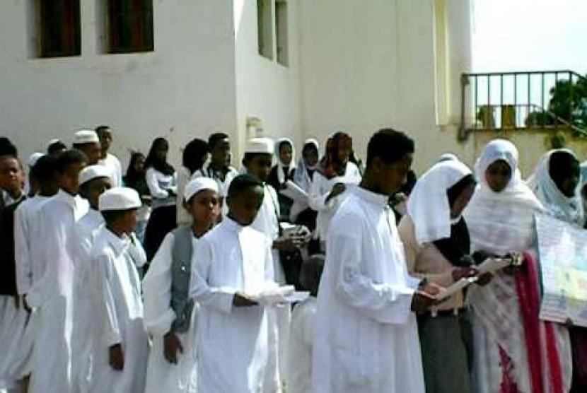 Anak-anak muslim Eritrea