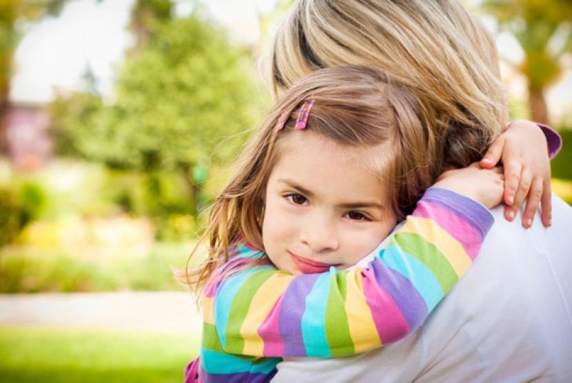 Anak butuh dipeluk orangtuanya/ilustrasi