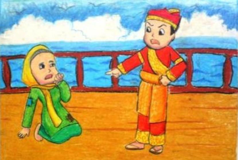 Koleksi 990  Gambar Animasi Anak Durhaka  Gratis