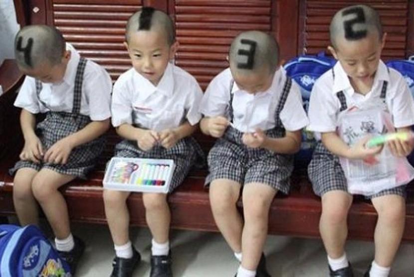 Anak-anak di Cina