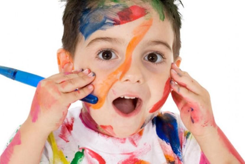 Anak kreatif/ilustrasi