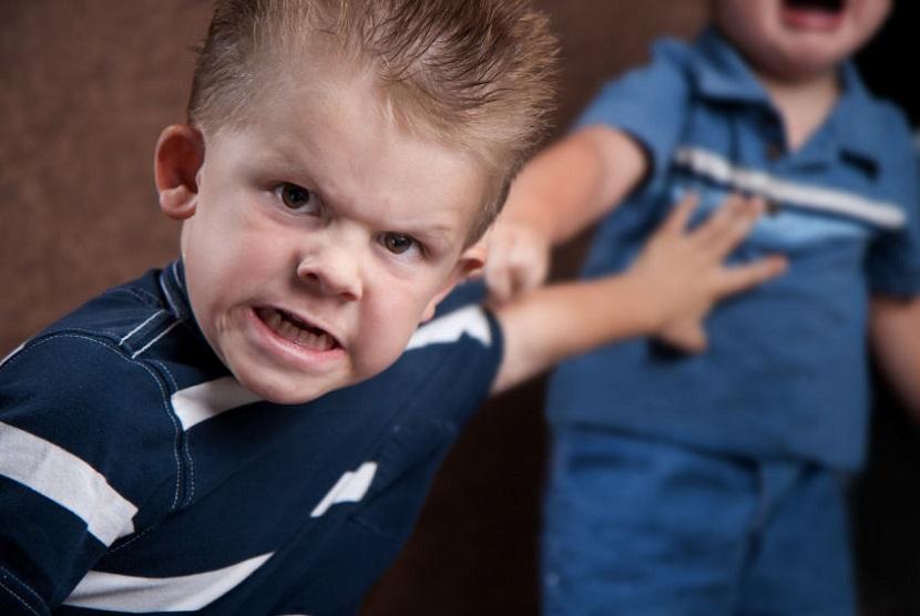 Anak melakukan perisakan atau bullying. Gejala psikopat ternyata sudah bisa dideteksi ketika anak berusia dua tahun