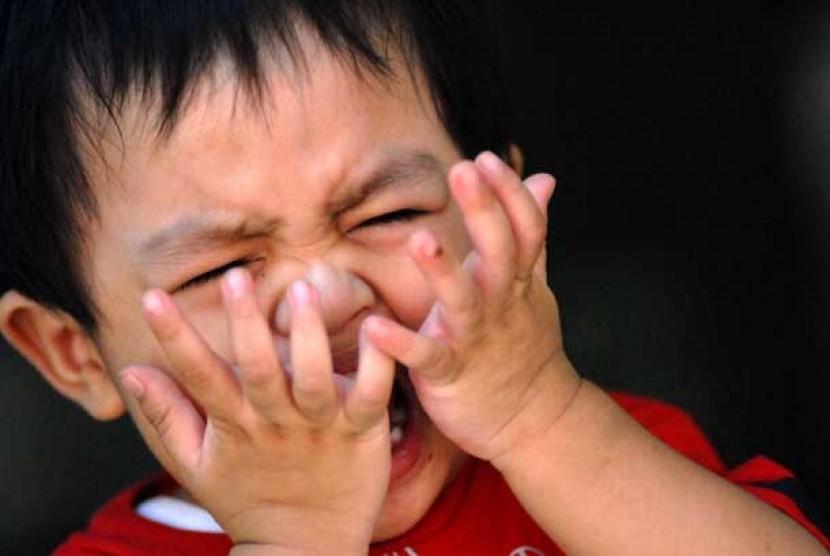 Anak menangis (ilustrasi)
