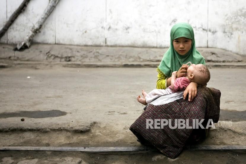 Anak muslim Uighur