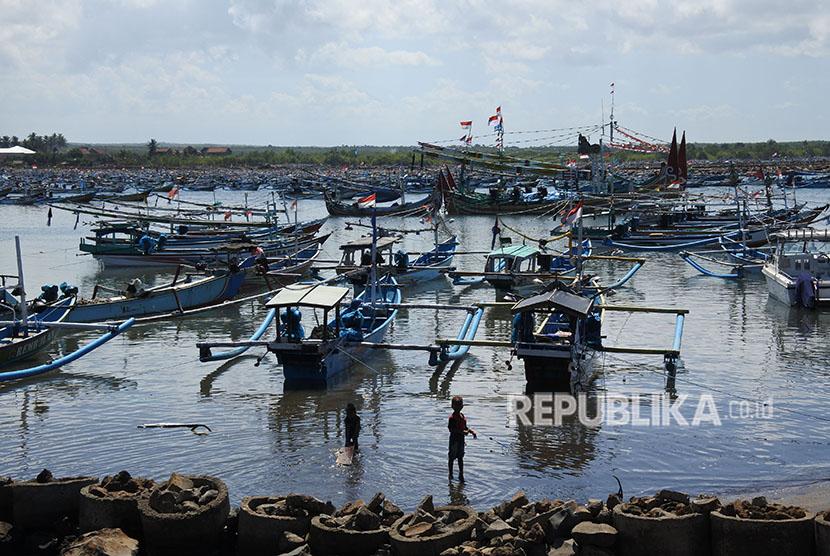 Anak nelayan / Ilustrasi
