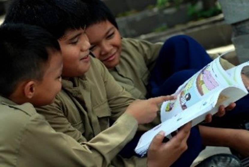 Anak sekolah (ilustrasi)