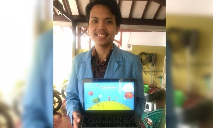 Andrew,  salah satu ketua tim dari kelompok mahasiswa Universitas Nusa Mandiri (UNM)  yang mengikuti seleksi peserta Lomba Inovasi Digital Mahasiswa (LIDM) 2021.
