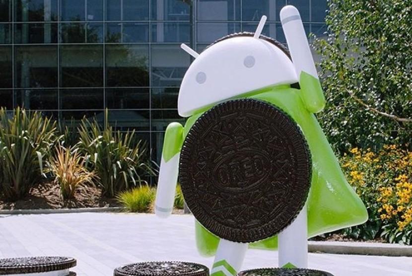 Android Oreo. Ilustrasi
