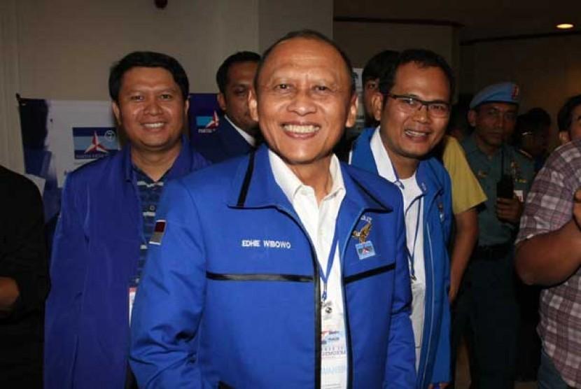 Anggota Dewan Pembina Partai Demokrat Jenderal (purn) Pramono Edhie Wibowo.