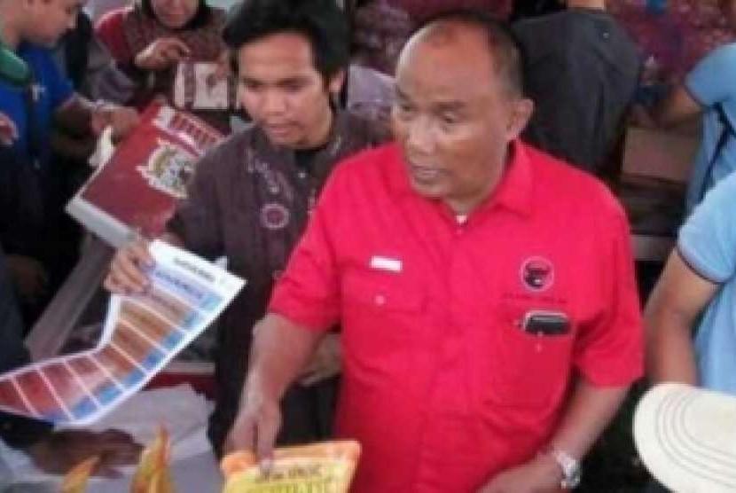 Anggota DPR dari Fraksi Partai Demokrasi Indonesia Perjuangan (PDI-P) daerah pemilihan (dapil) Riau I Effendy Sianipar