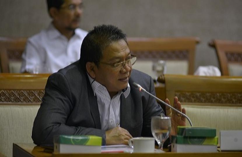 Anggota DPR RI, Abdul Wachid dalam sebuah kegiatan di Parlemen