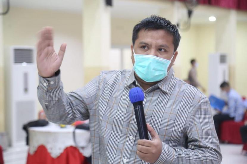 Anggota Komisi 5 DPRD Jabar dari Fraksi Gerindra Ali Rasyid M.Sos.