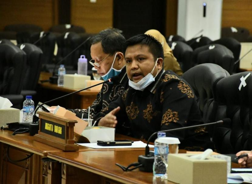 Anggota Komisi 5 DPRD Provinsi Jabar dari Fraksi Gerindra Ali Rasyid