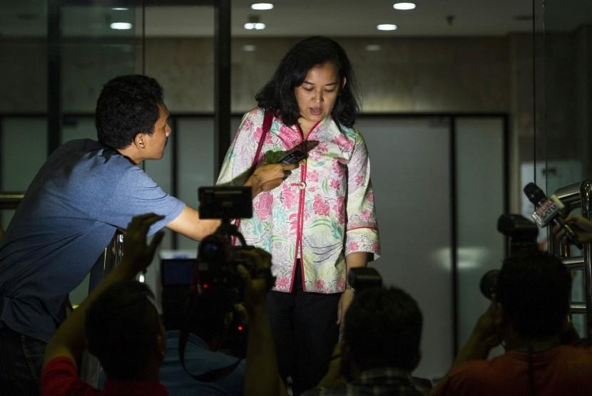 Anggota Komisi B DPRD DKI Jakarta Yuke Yurike.