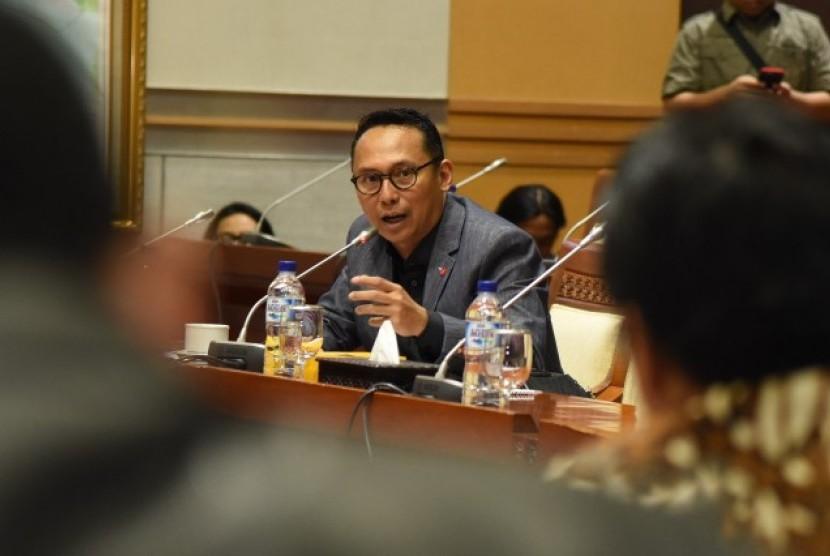 Anggota Komisi I DPR RI Junico BP Siahaan.