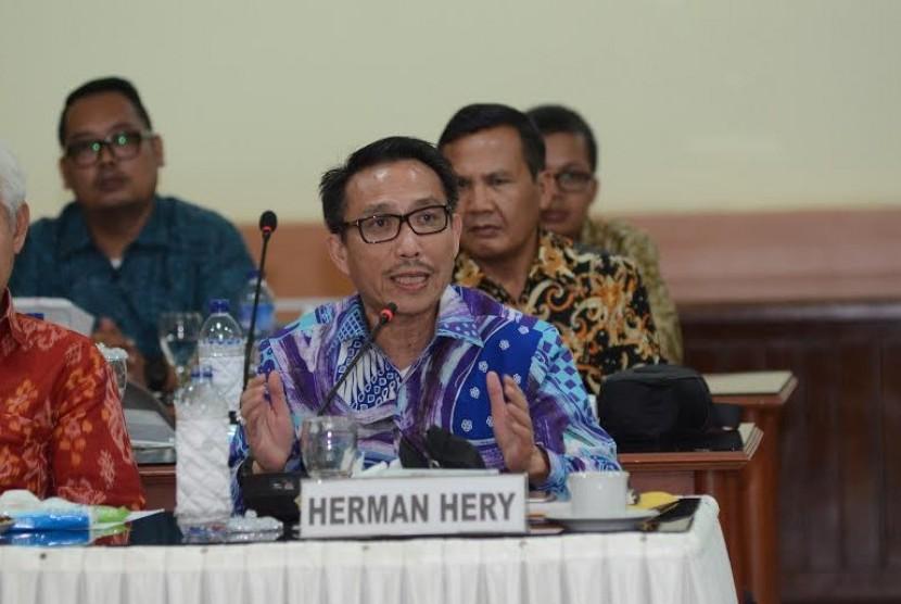 Anggota Komisi III DPR Herman Hery.