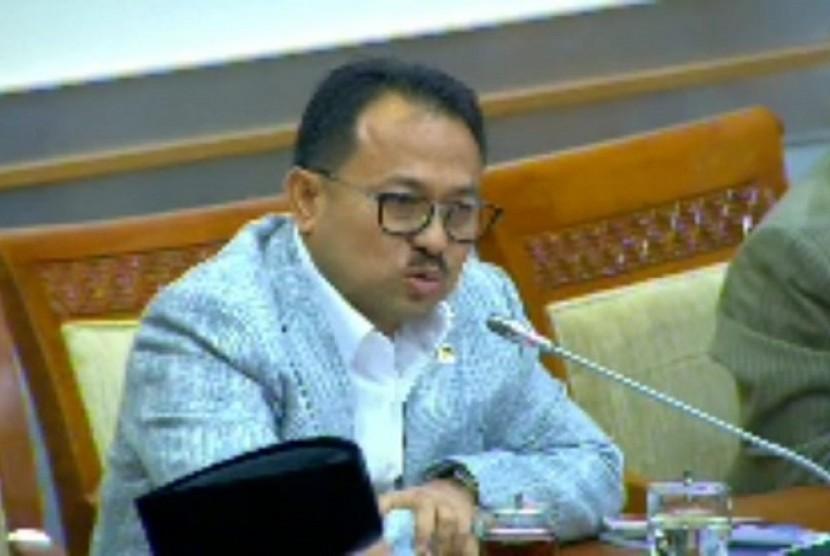 Anggota Komisi III DPR, Khairul Saleh meminta pemerintah membebaskan napi tipiring mengantisipasi wabah corona di Lapas.(istimewa/doc pribadi)