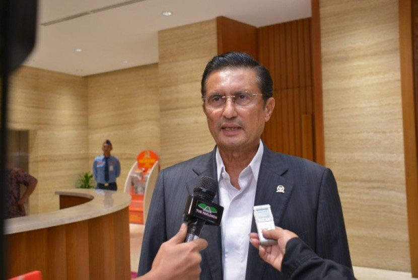 Anggota Komisi VII Dewan Perwakilan Rakyat Republik Indonesia (DPR RI) Fadel Muhammad.