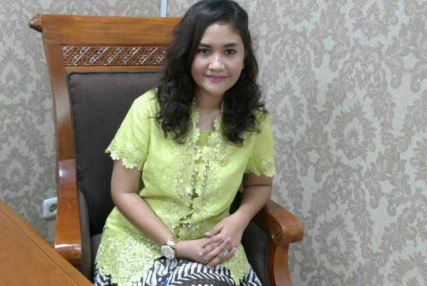 Anggota Komisi VII DPR RI Fraksi Nasdem Ari Yusnita