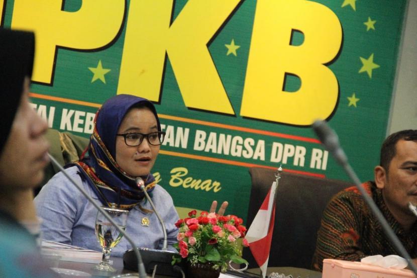Anggota komisi XI DPR RI Fraksi PKB Ela Siti Nuryamah