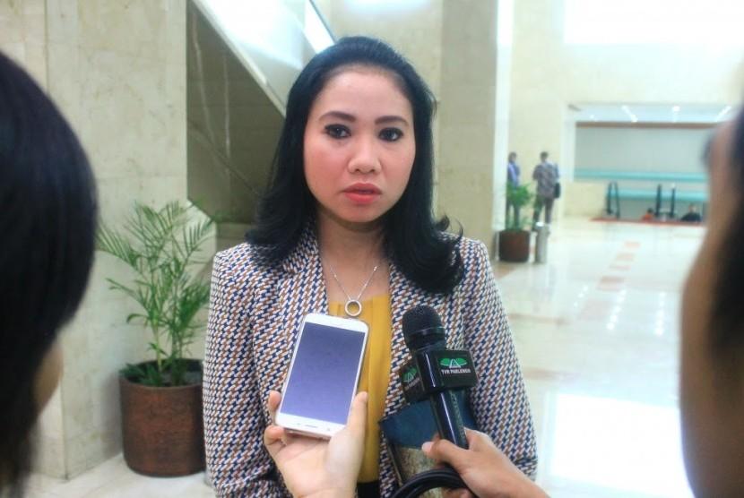 Anggota Panitia Khusus (Pansus) DPR RI Risa Mariska.