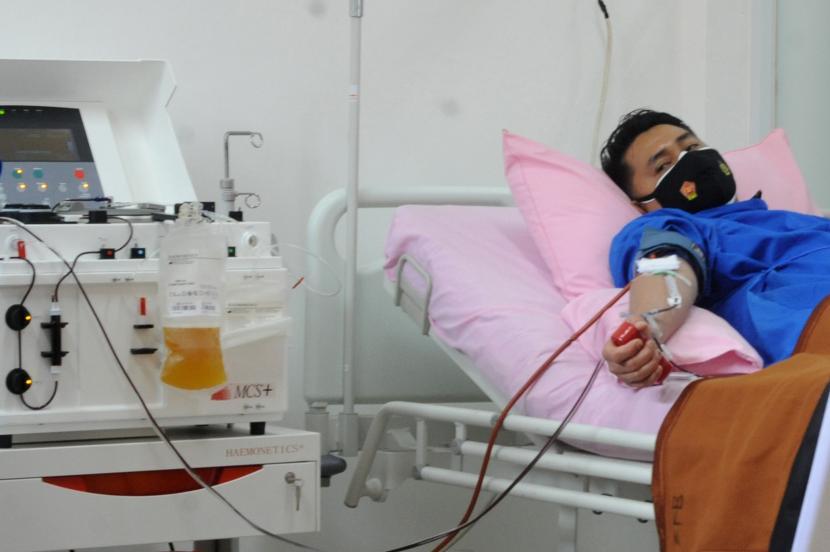 Dinkes Bandung Ajak Penyintas Covid-19 Donor Plasma (ilustrasi).