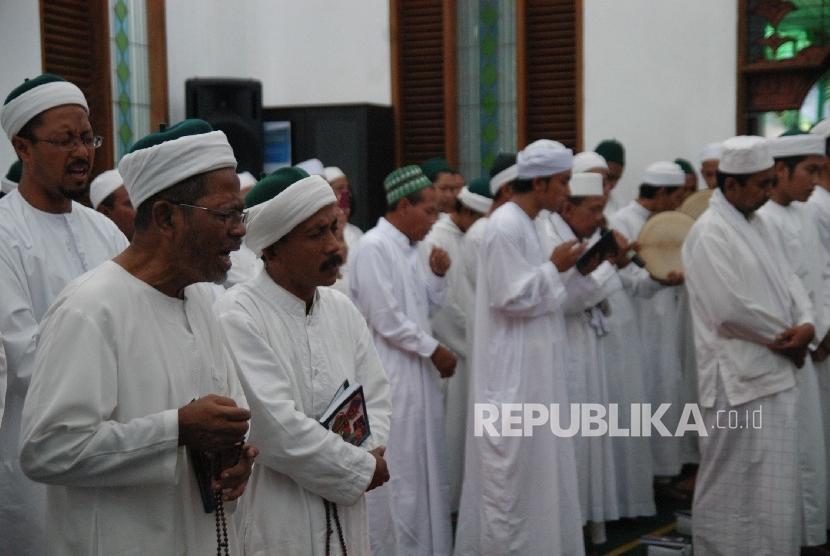 Anggota Tarekat Naqsabandiyah/ilustrasi