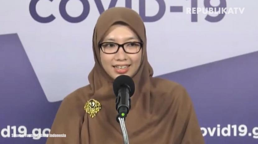 Ketua Bidang Data dan Teknologi Informasi Satgas Covid-19 Dewi Nur Aisyah meminta masyarakat tetap waspada dan praktik 3M saat libur Isra Miraj besok.