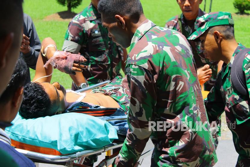 Anggota TNI korban penembakan KKSB (ilustrasi)