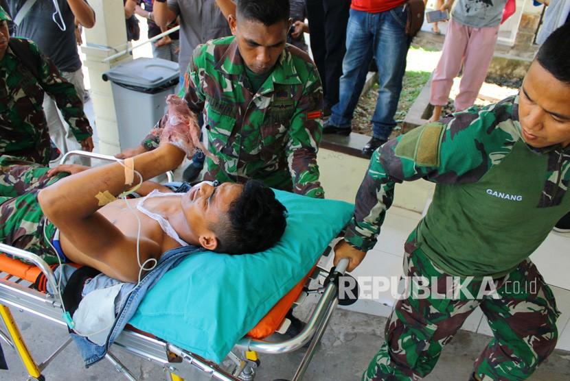 [ilustrasi] Anggota TNI korban penembakan kelompok kriminal separatis bersenjata (KKSB).