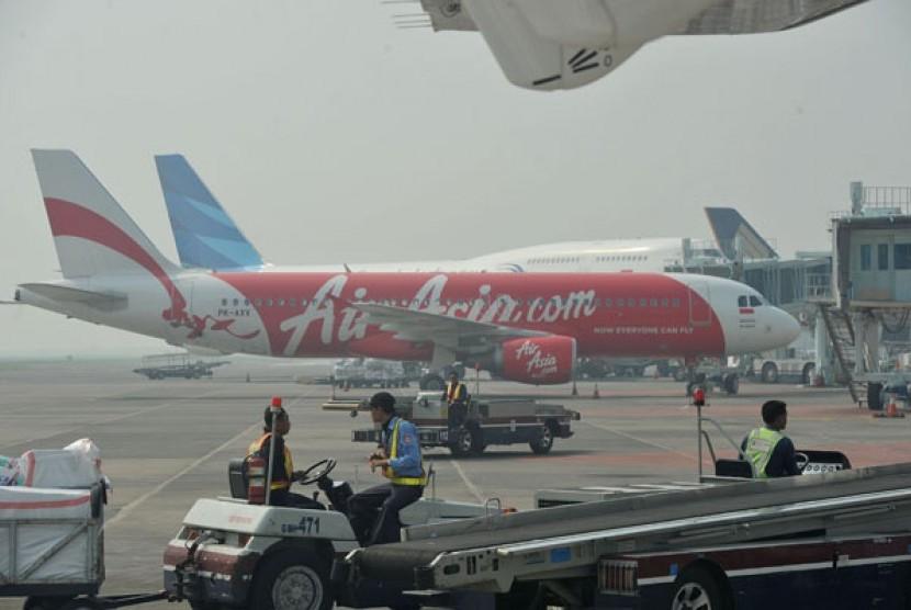 Angkutan mudik pesawat udara (ilustrasi)