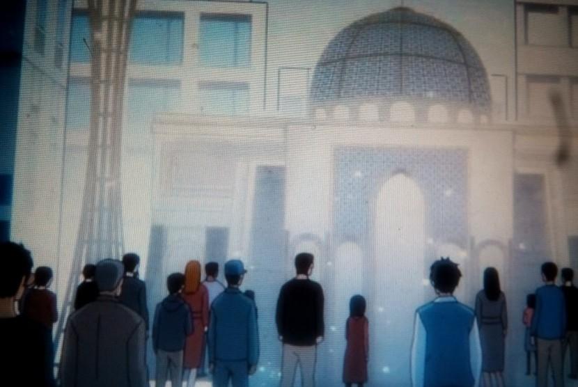 Anime yang dibuat komunitas Muslim Jepang.