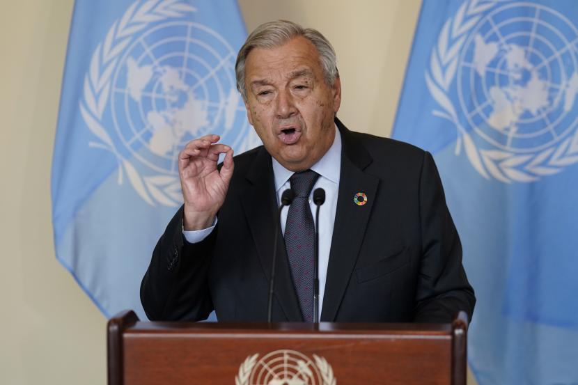 Sekjen PBB Berharap Kemajuan Hubungan Kedua Korea