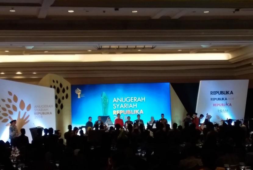 Anugerah Syariah Republika digelar di JW Marriot, Kamis (8/11).