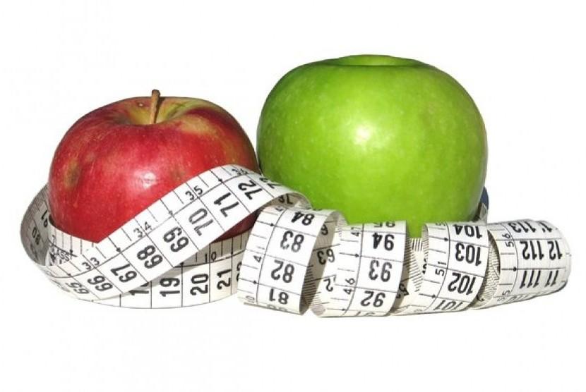 Apel bikin langsing/ilustrasi