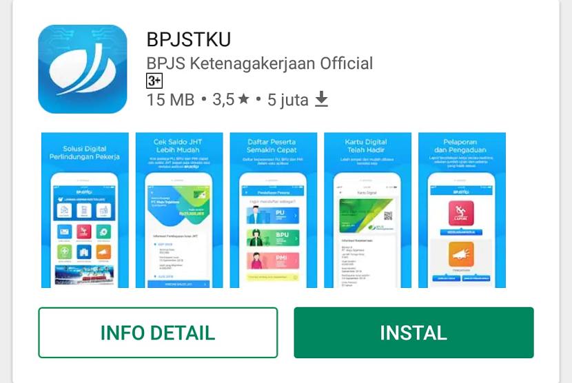 BPJS TK Optimalkan Layanan Melalui Aplikasi ''BPJSTKU