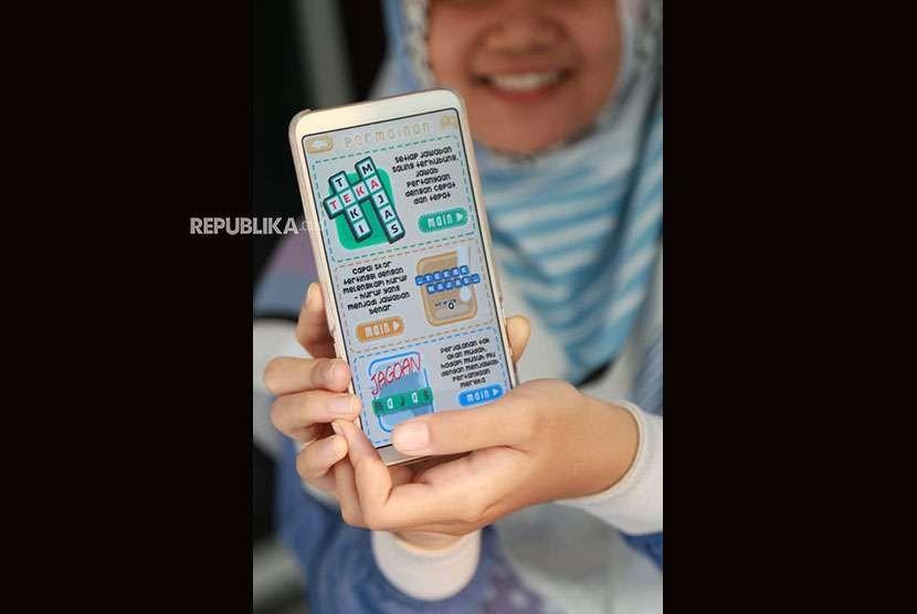 Aplikasi majas karya mahasiswa Universitas Muhammadiyah Malang (UMM).