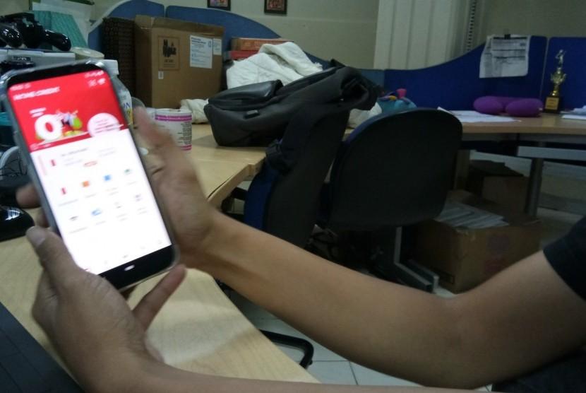 Aplikasi My Home Credit Indonesia. Perusahaan pembiayaan berbasis teknologi Home Credit Indonesia (Home Credit) mencatatkan penyaluran sebesar Rp 6,3 triliun sepanjang 2020. Adapun realisasi ini menurun dibandingkan periode tahun sebelumnya sebesar Rp 12,6 triliun.