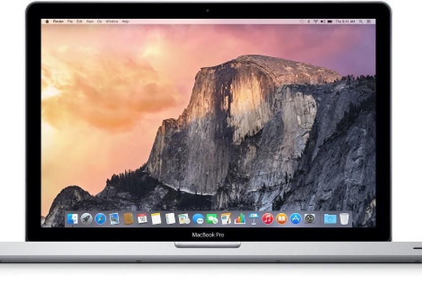 Apple MacBook Pro. Ilustrasi