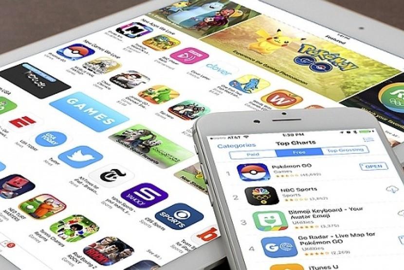AppStore. Ilustrasi