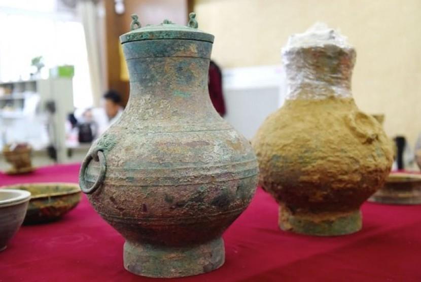Arkeolog menemukan 'ramuan keabadian' di makam Cina kuno di Provinsi Henan, Cina tengah.