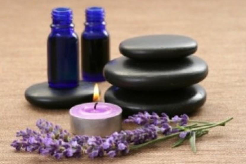 Aromaterapi Lavender (Ilustrasi)