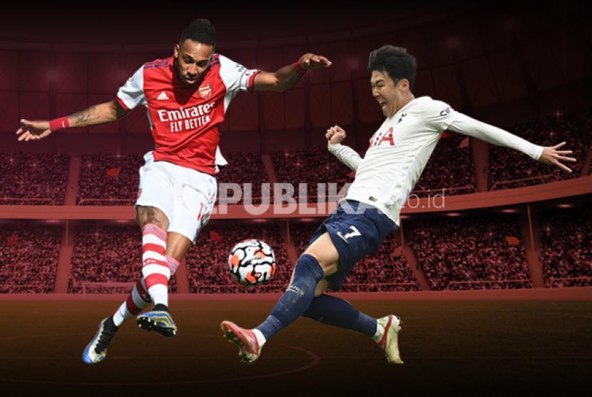 Arsenal akan berhadapan dengan Tottenham Hotspur