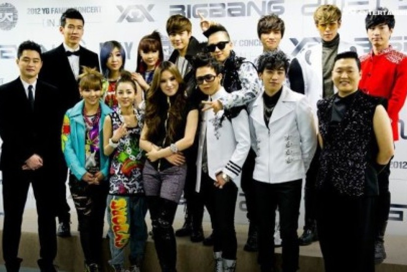 Artis-artis YG Entertainment