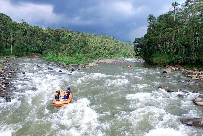 Jembatan Serayu Ditarget Selesai Akhir Tahun 2021. (ilustrasi).