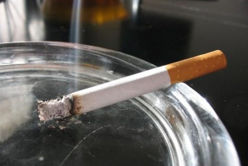 Asap rokok, ilustrasi