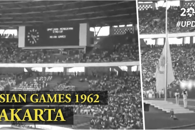 Asian Games 1962 Jakarta, Indonesia
