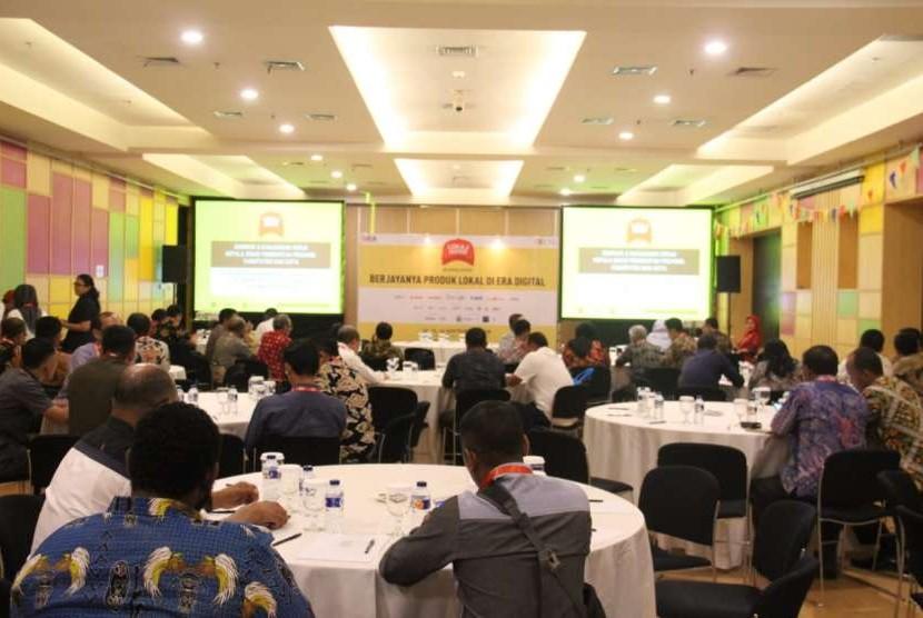Asosiasi E-Commerce Indonesia (idEA) dan Kemendes PDTT menyelenggarakan Seminar Nasional dan Kunjungan Kerja bertajuk Strategi Pengembangan Ekonomi Digital di Daerah Melalui Kolaborasi E-Commerce & UMKM.